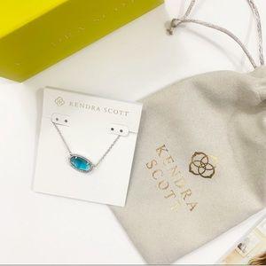 New Kendra Scott Elisa Silver Pendant Necklace
